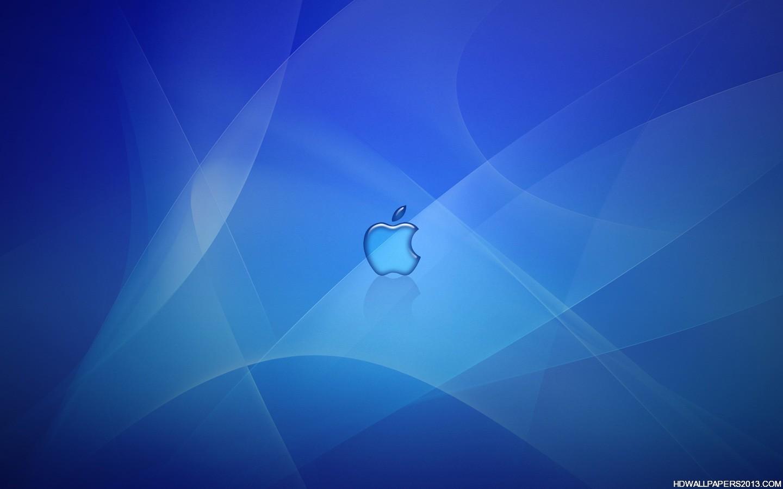 Deep Blue Apple Logo Wallpaper High Definition Wallpapers High 1440x900
