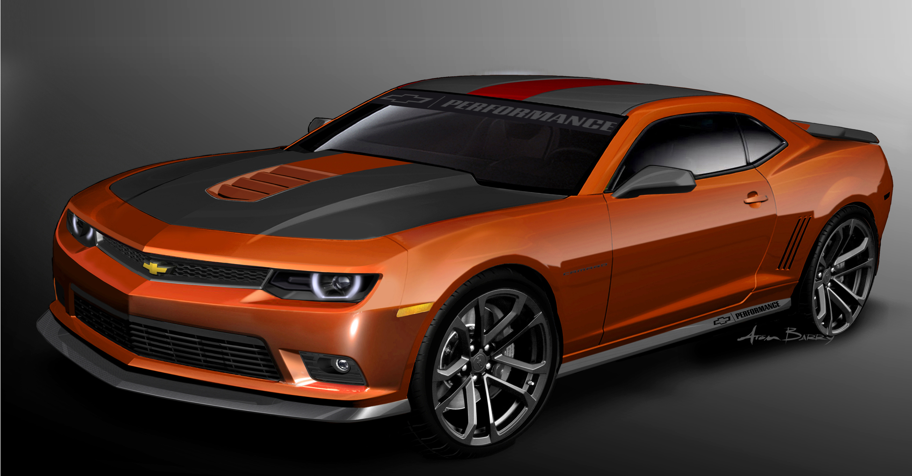 Chevy Dispatches a Squad of Camaros to Las Vegas News 3000x1567
