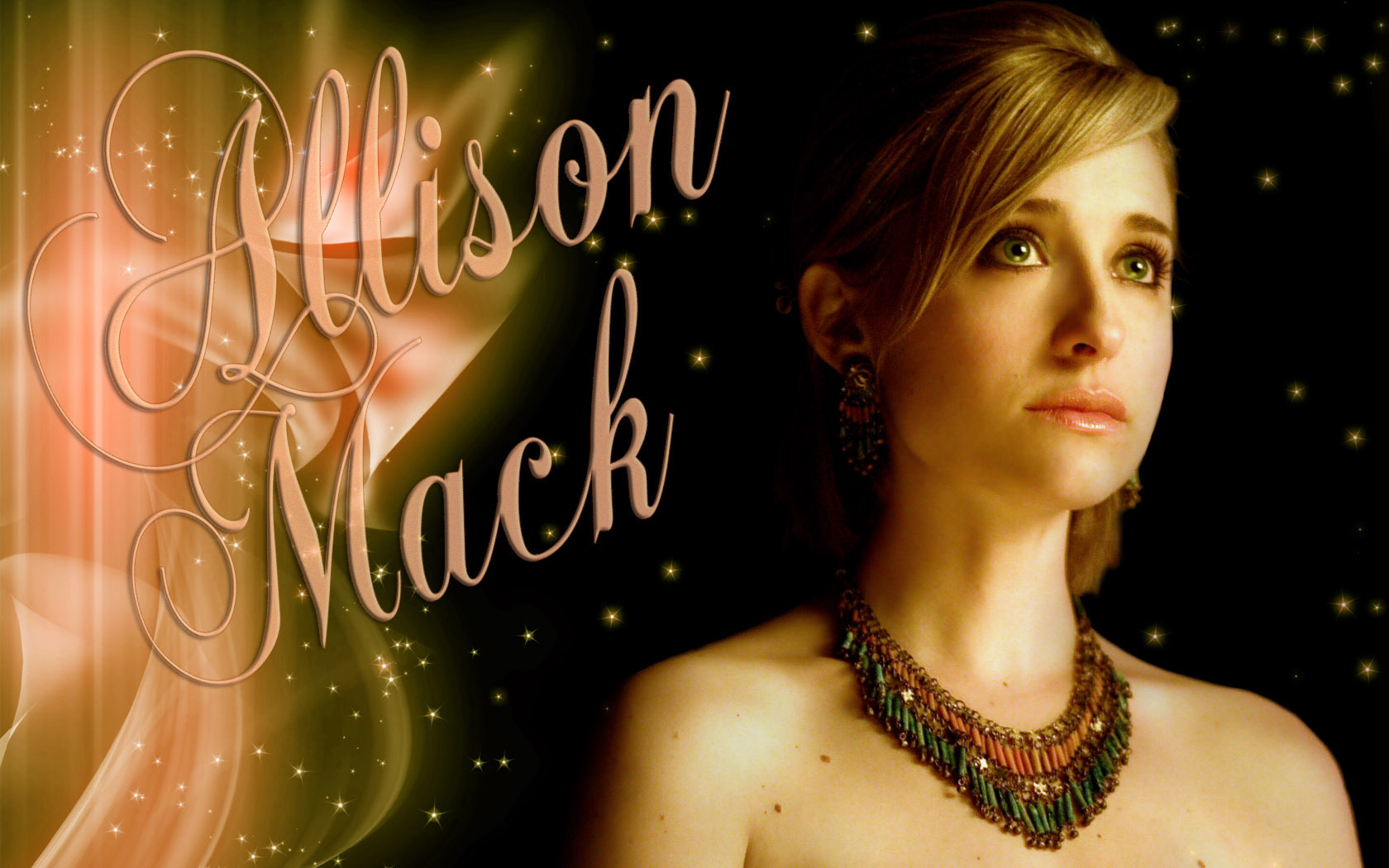 Allison Mack   Allison Mack Wallpaper 11078086 1680x1050