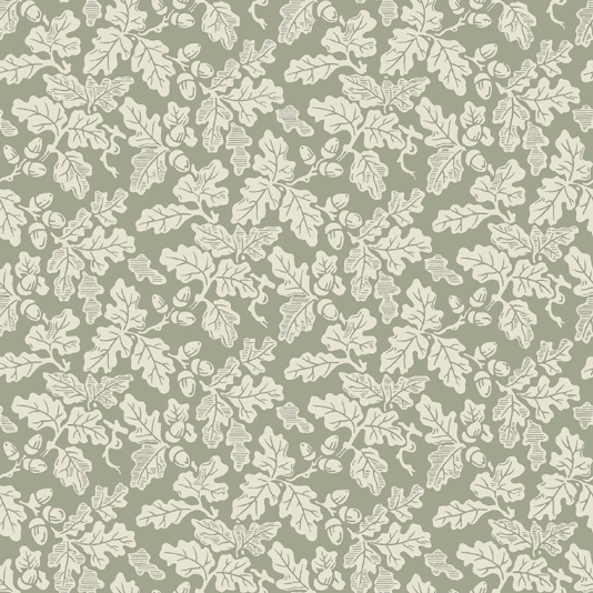 Oak Leaf Wallpaper Cream on sage green oak leaf design wallpaper 534x534