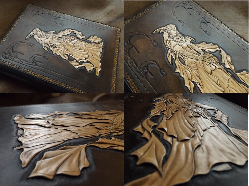 leather tooled book by CreationsMJF 1024x765