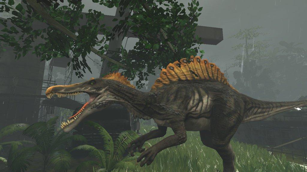 Primal Carnage Spinosaurus wallpaper by BaganSmashBros 1024x576