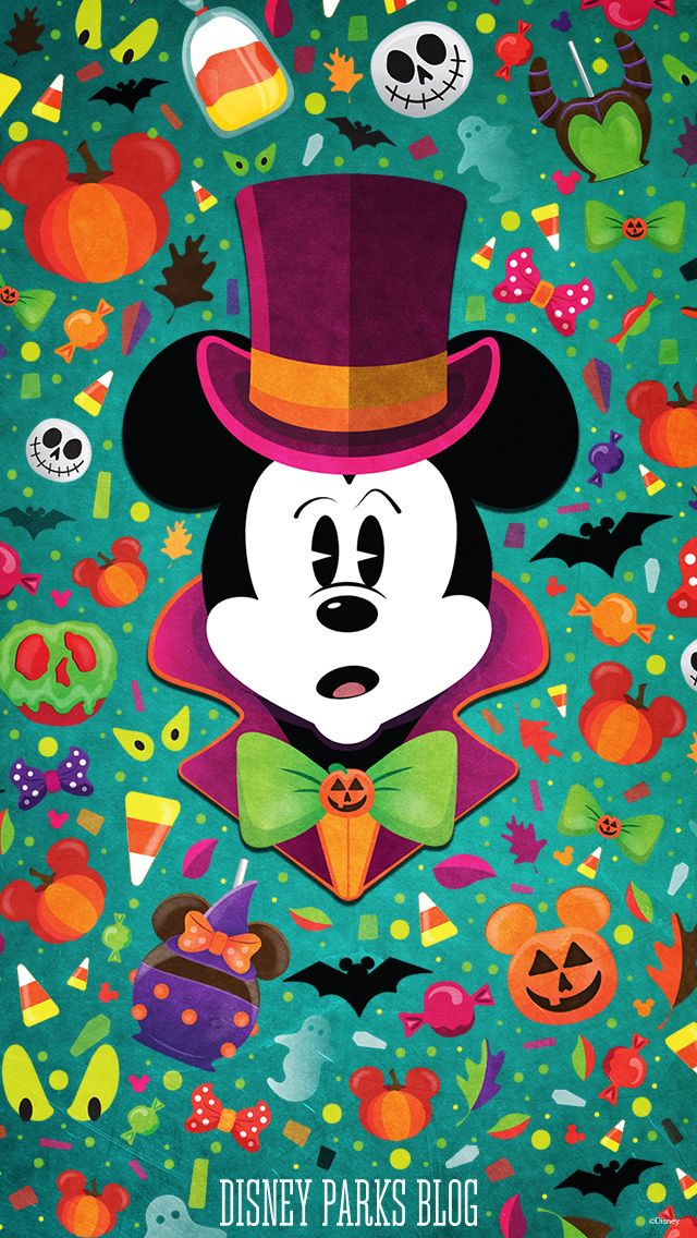 Mickey Halloween wallpaper iPhone Wallpapers in 2019 Mickey 640x1136