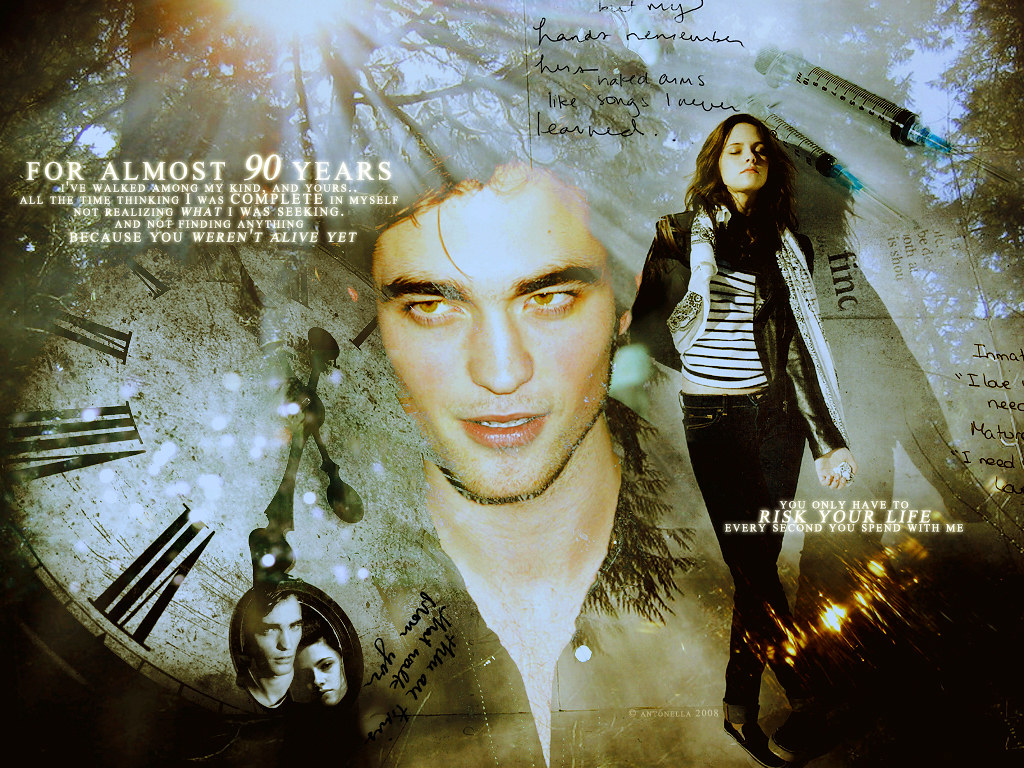 Rob Kristen robert pattinson and kristen stewart 3104722 1 Flickr 1024x768
