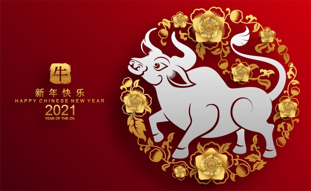 Happy Chinese New Year 2021 Wallpaper and Images OX Year Images 1024x628