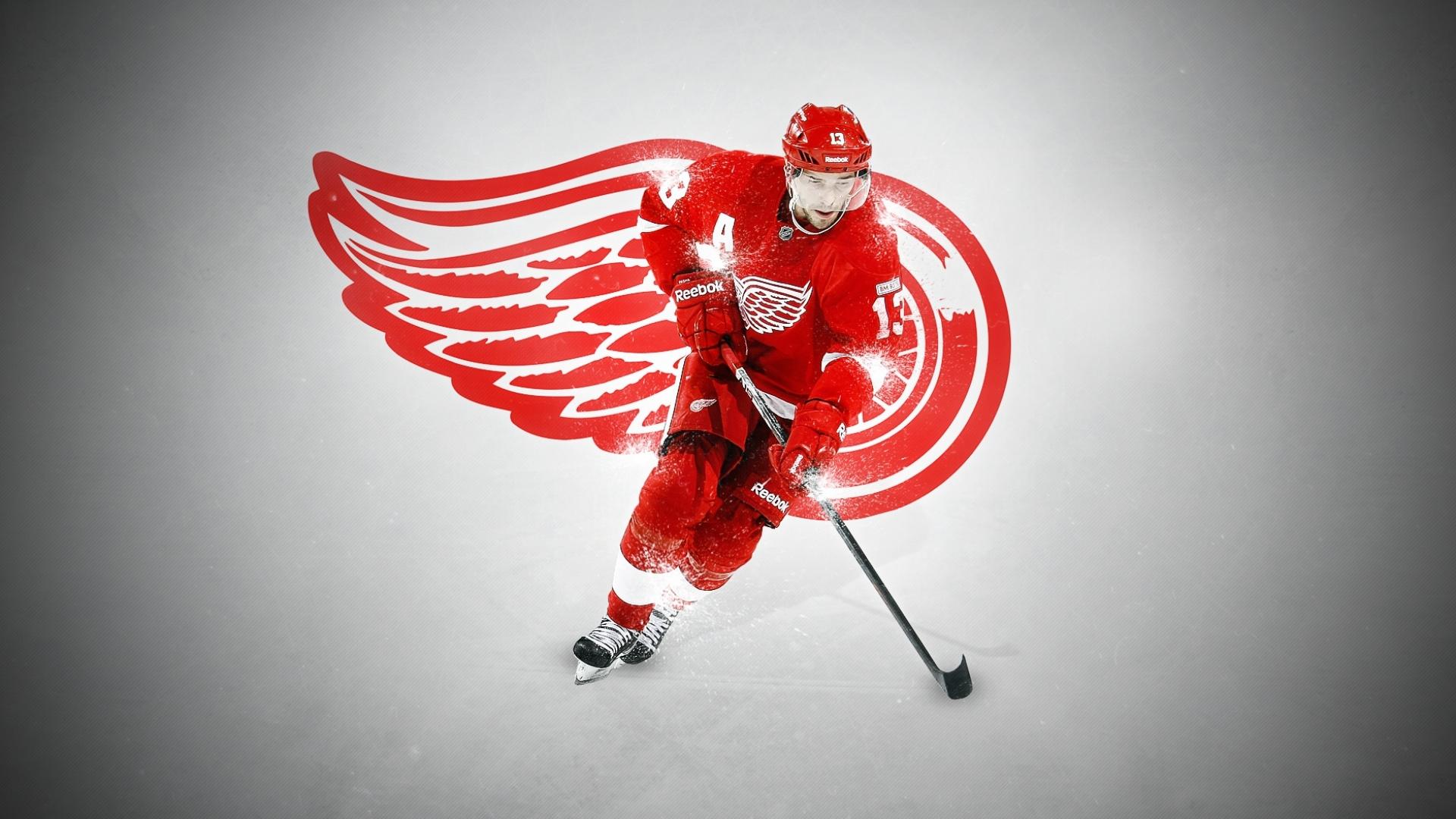 Download hockey nhl dat detroit red wings pavel datsyuk wallpaper 1920x1080