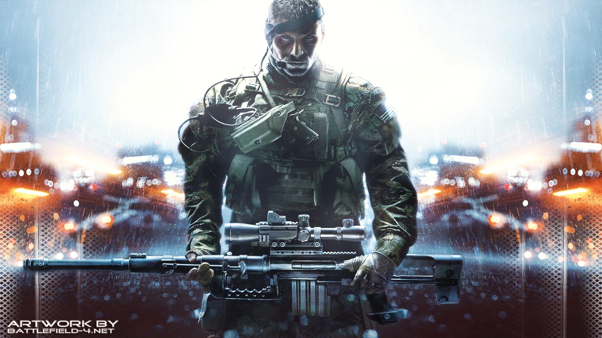 battlefield 4 wallpaper soldier 1 World Games 1920x1080