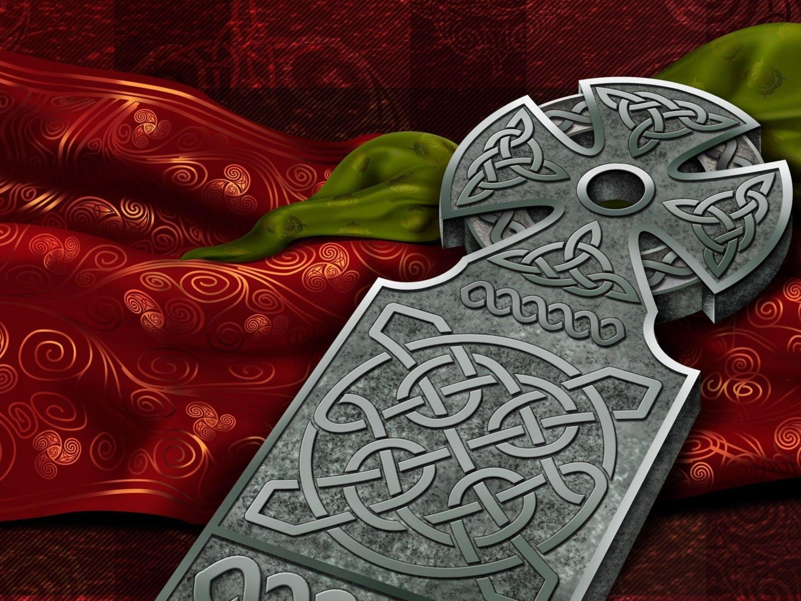 HD Celtic Cross Wallpaper Download   72248 2560x1920