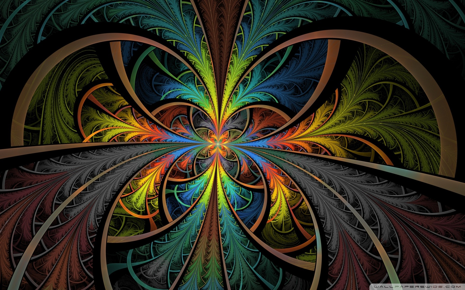 Colorful Psychedelic Wallpaper 1920x1200 Colorful Psychedelic 1920x1200