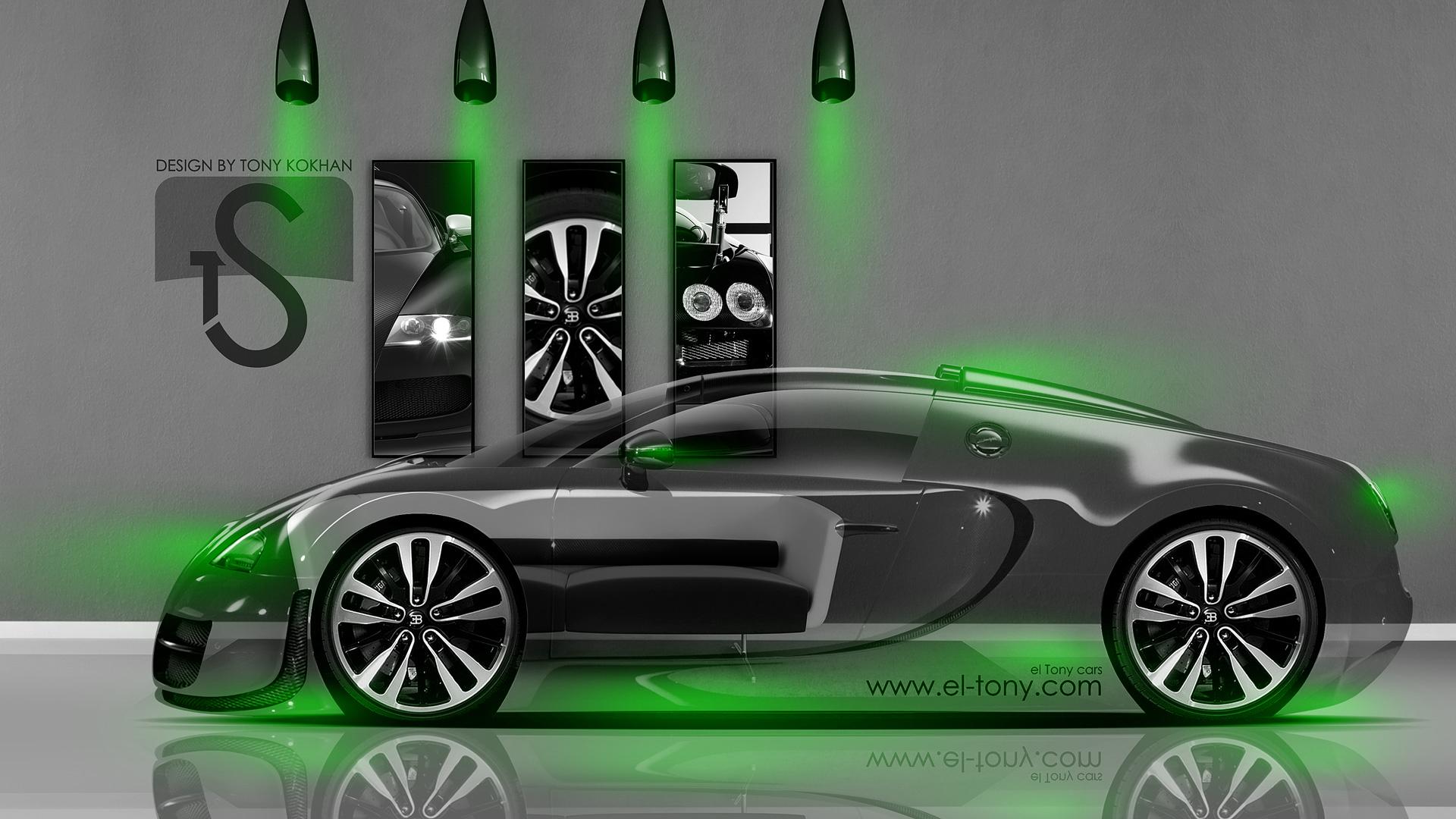lime green bugatti veyron wallpaper - photo #14