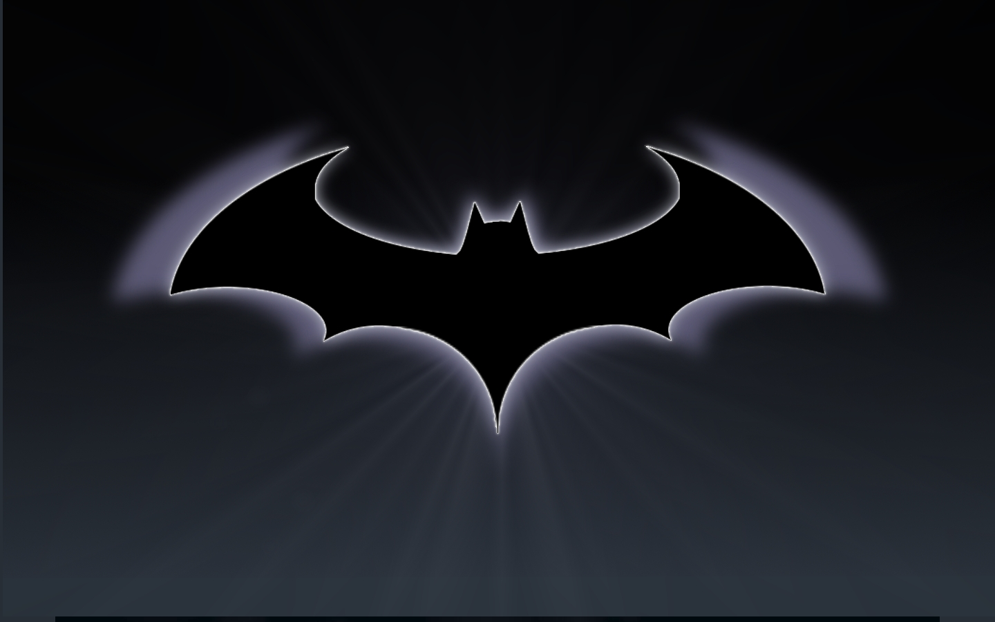 Cartoon Batman Logo Batman Wallpaper by pastorgavin Batman Wallpaper 1440x900