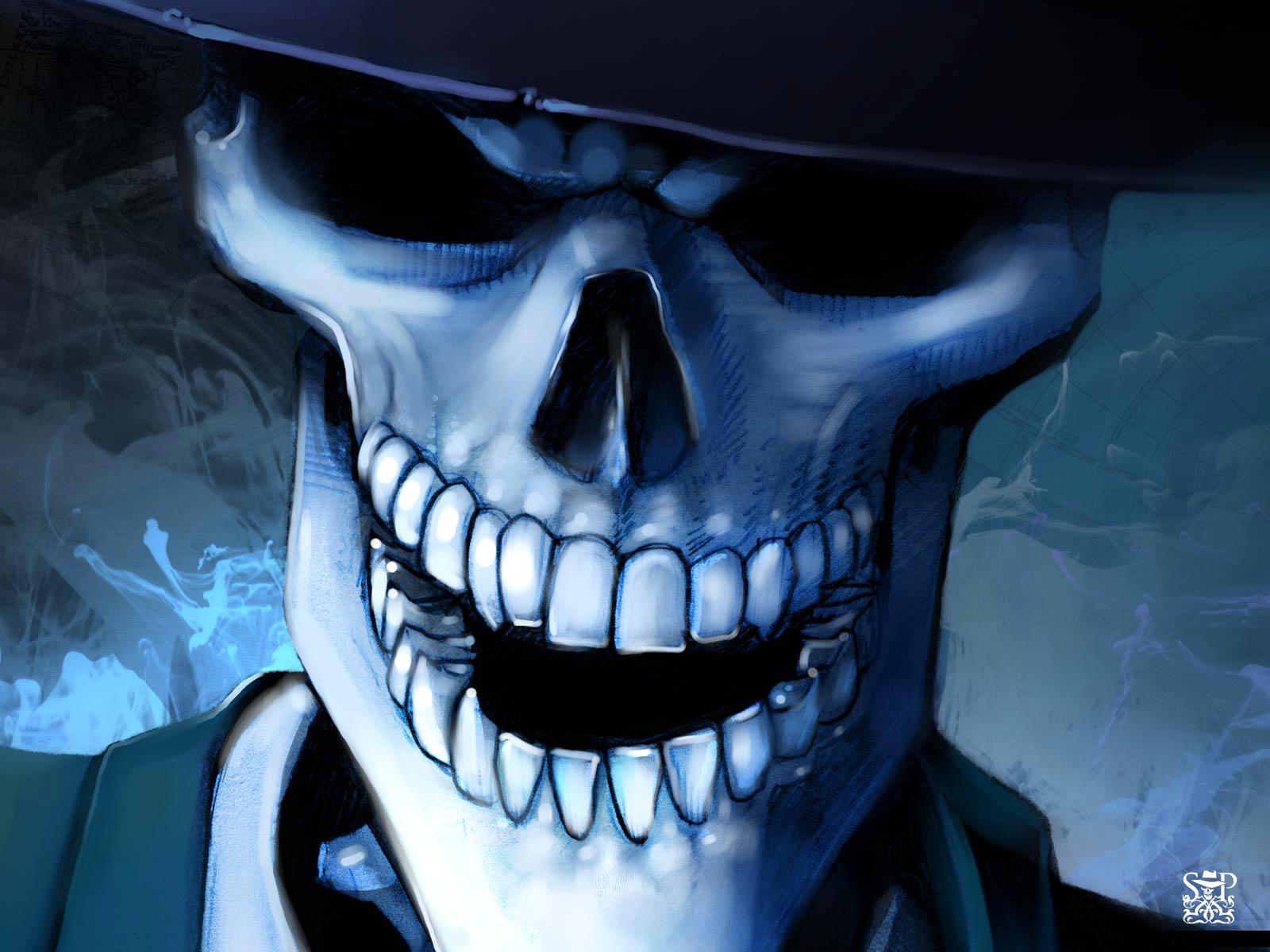 free download hq skull hat horror wallpaper num 22 1600 x 1200 164 Car 1600x1200