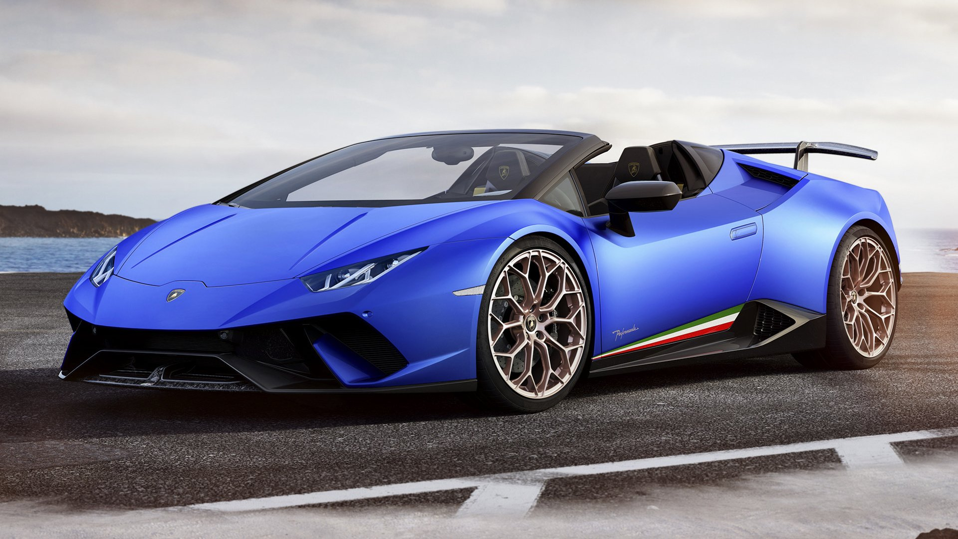 2018 Lamborghini Huracan Performante Spyder HD Wallpaper 1920x1080