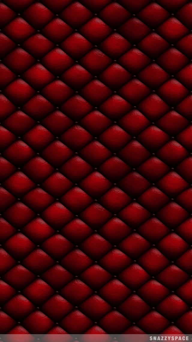 Installing this Red Chesterfield Leather iPhone Wallpaper is very easy 640x1136