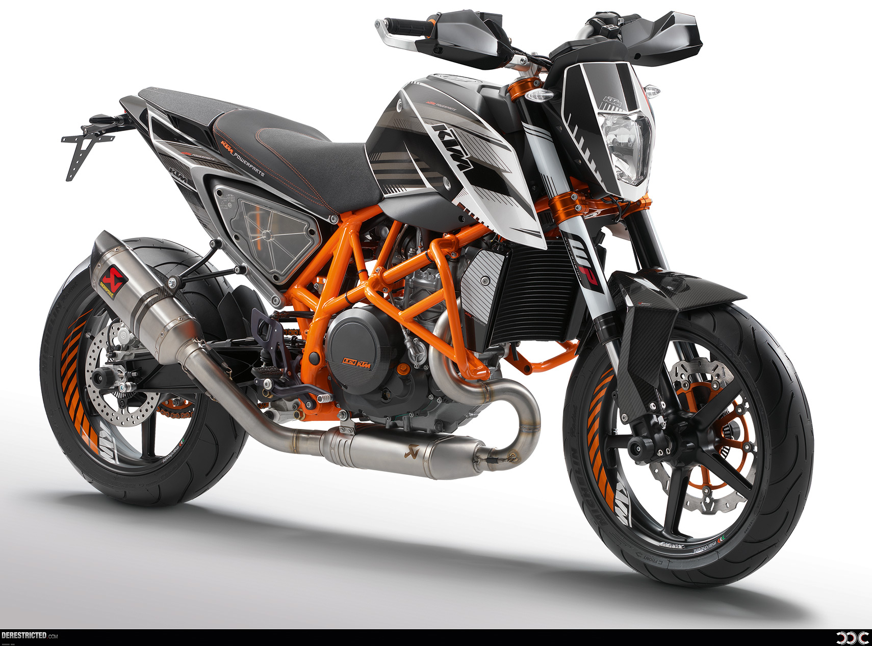 KTM Duke 690 2012 with lots of powerparts wallpaper DERESTRICTED 1710x1268
