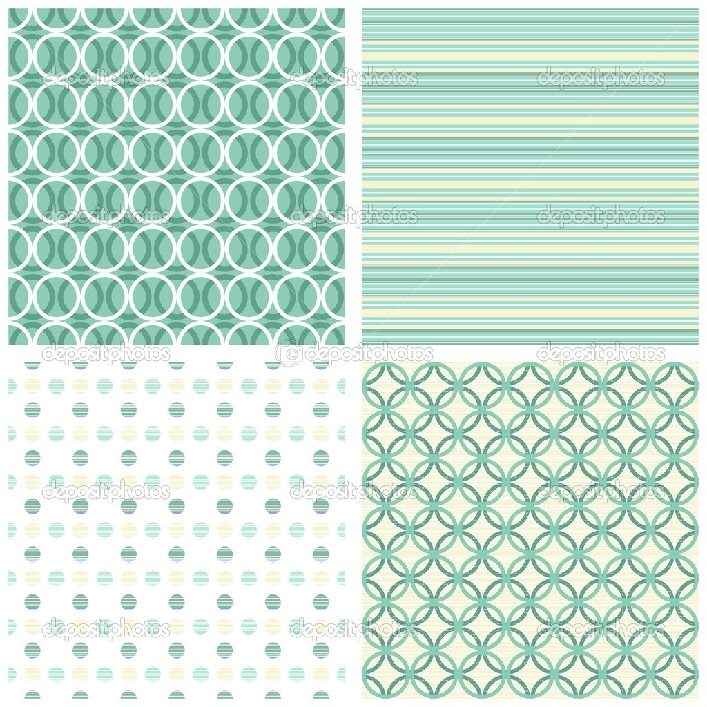 Turquoise White Striped Background 1024x1024
