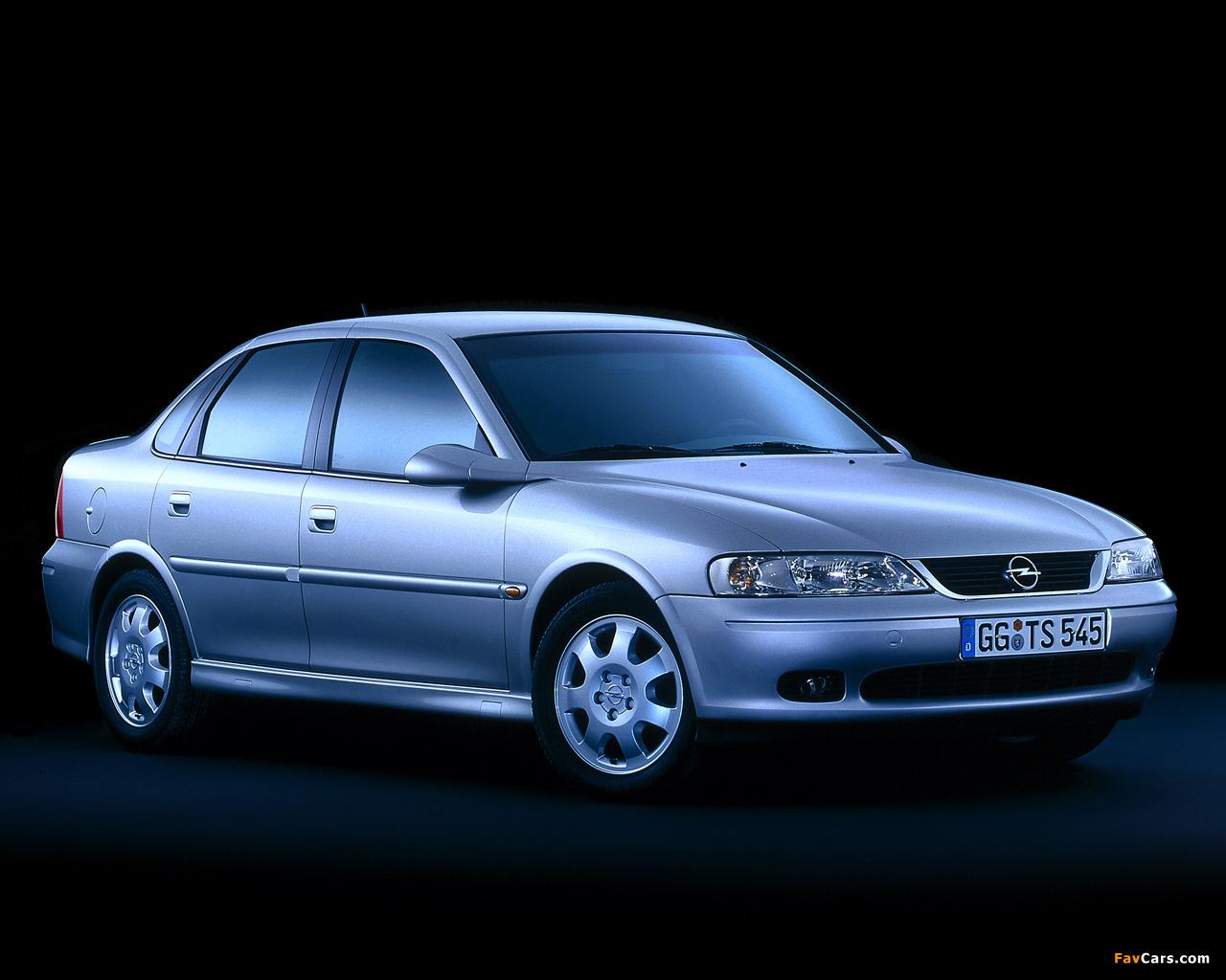 Images of Opel Vectra Sedan B 19992002 1280x1024