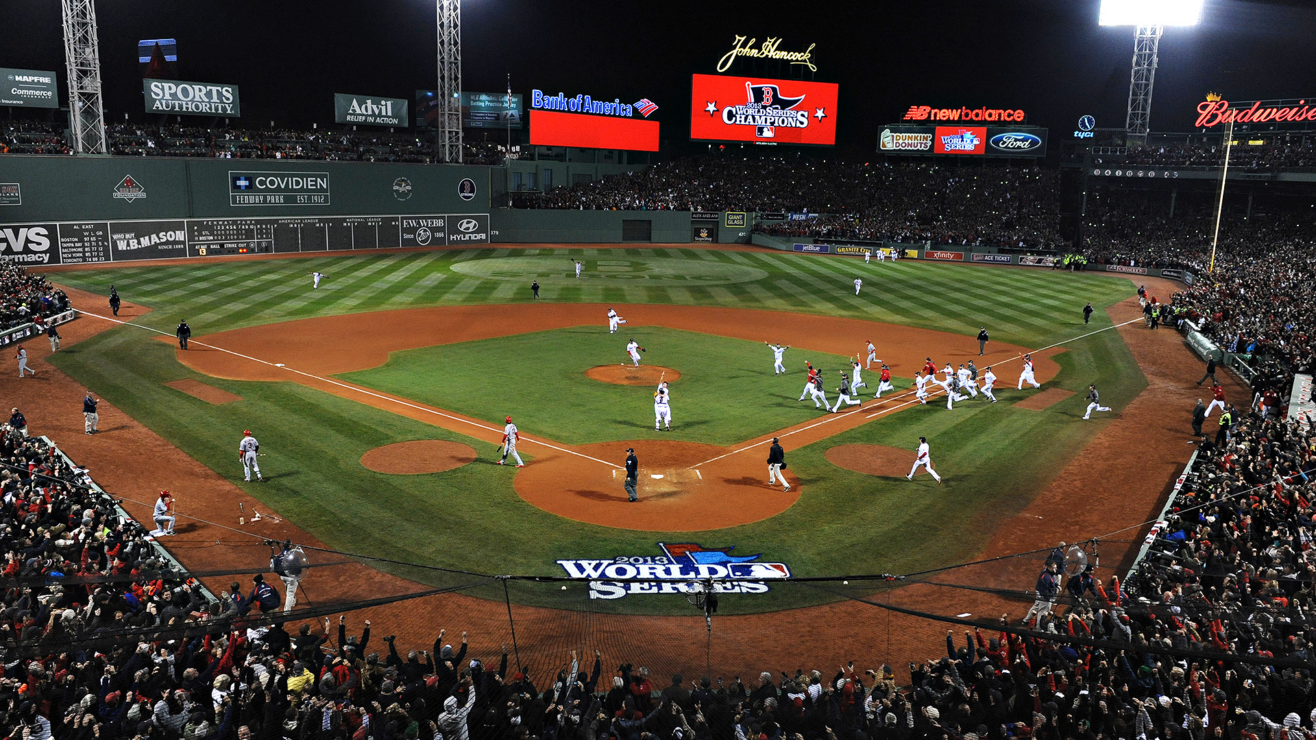 Red Sox vs. Cardinals, 2013 World Series Game 5 final ...
