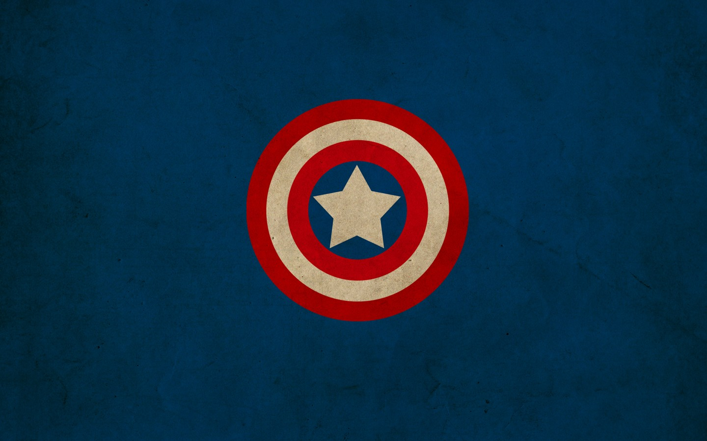Captain America shield Marvel Comics logos Franck Grzyb wallpaper 1440x900