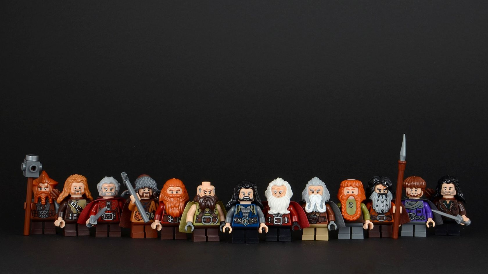 LEGO dwarves from The Hobbit [1920x1080] Wallpapers Wallpapers 1680x945