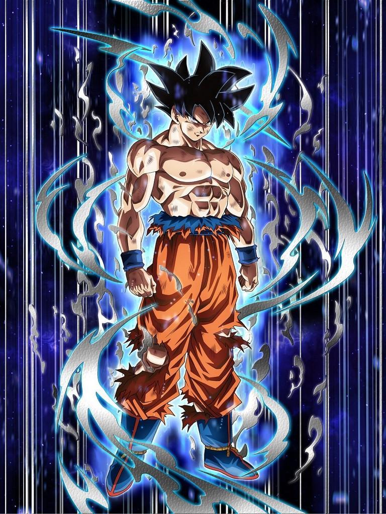 Free Download Ultra Instinct Goku Wallpaper 1mobilecom 768x1024