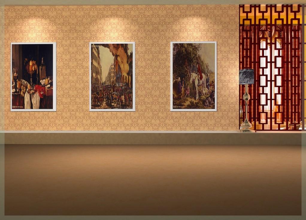 Wallpaper for hall wallpapersafari for Wallpaper for hall walls