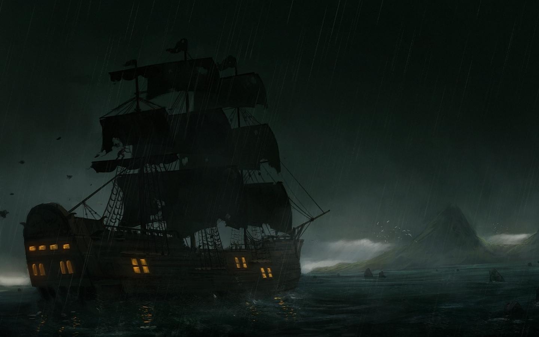 44 3d Pirate Ship Wallpaper On Wallpapersafari