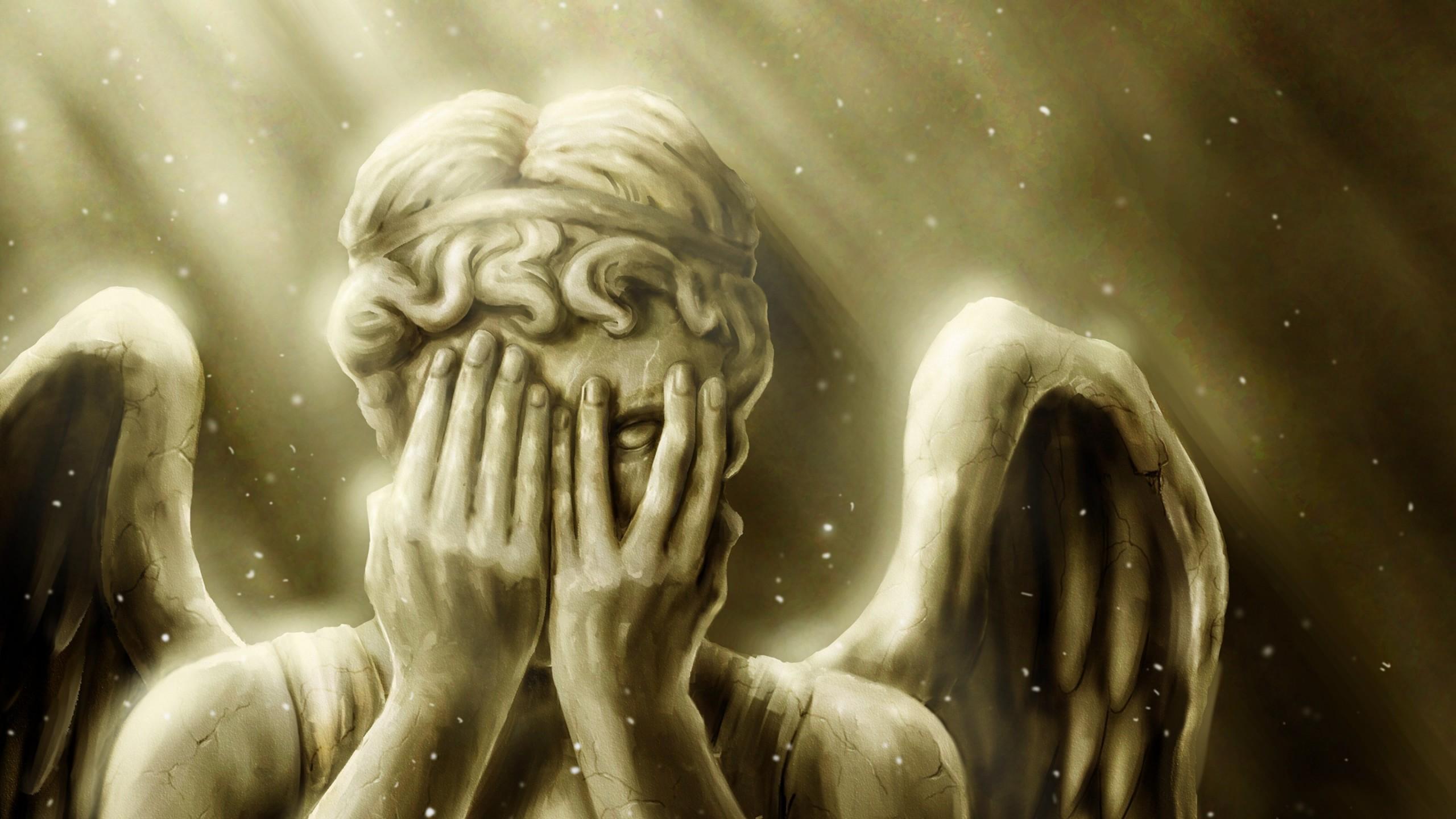 weeping angel desktop wallpaper wallpapersafari