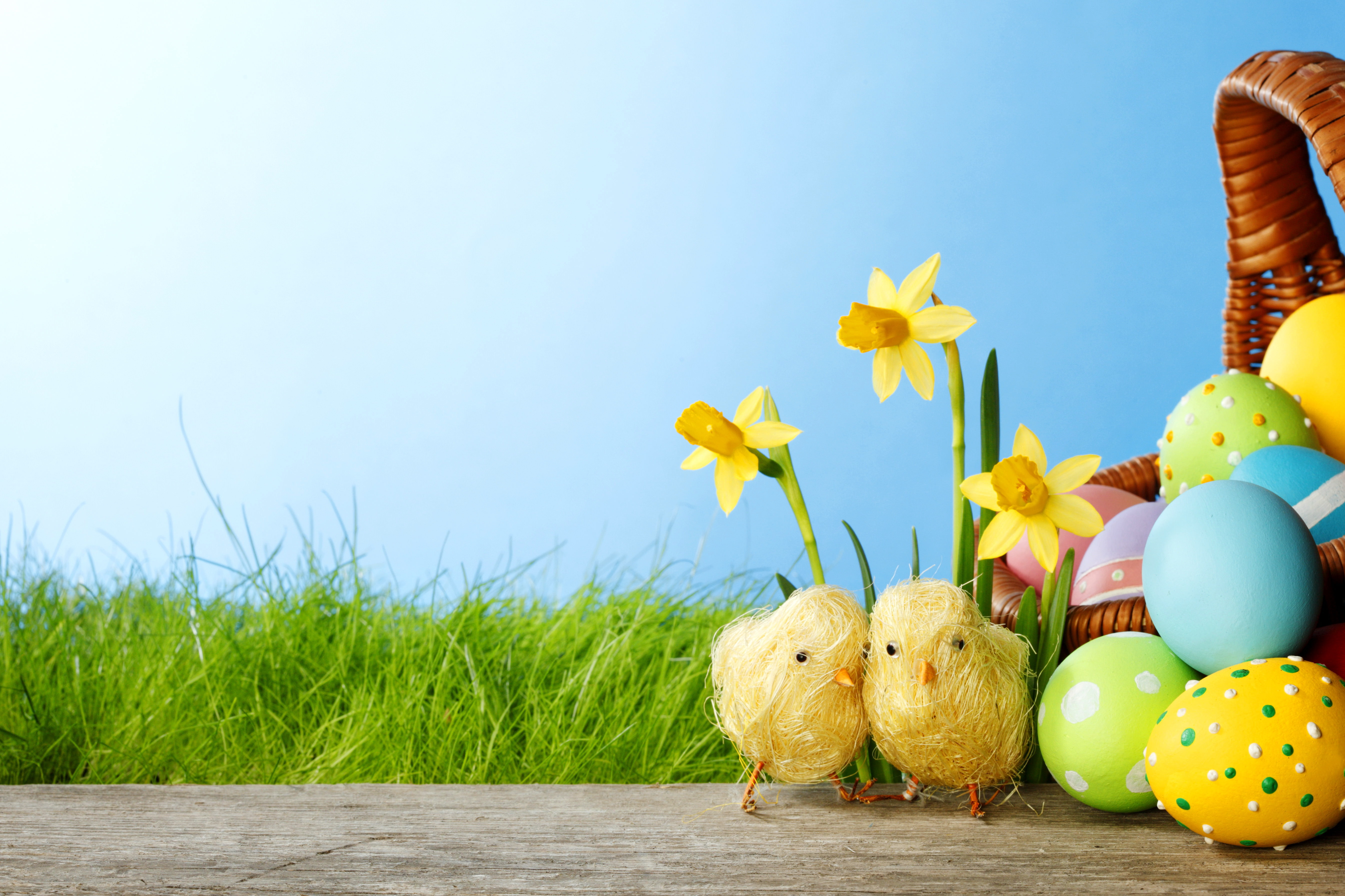 31 Easter Background Wallpapers Images Pictures 5380x3586
