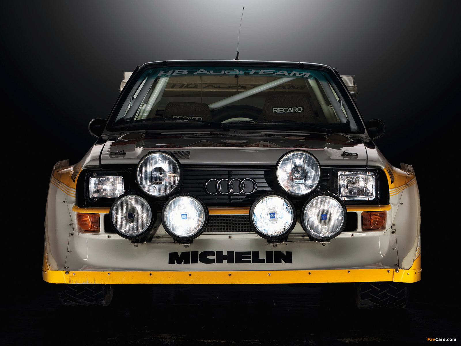 Sport Quattro S1 Group B Rally Car 198586 wallpapers 1600 x 1200 1600x1200