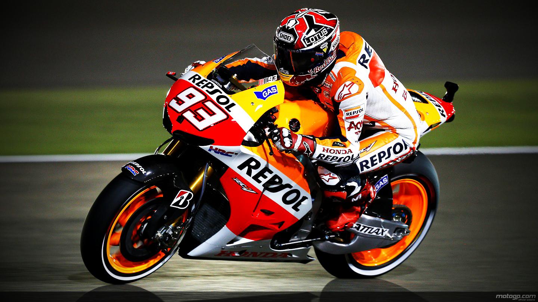 Marc Marquez Champions MotoGP 2014 Wallpaper 1440x810