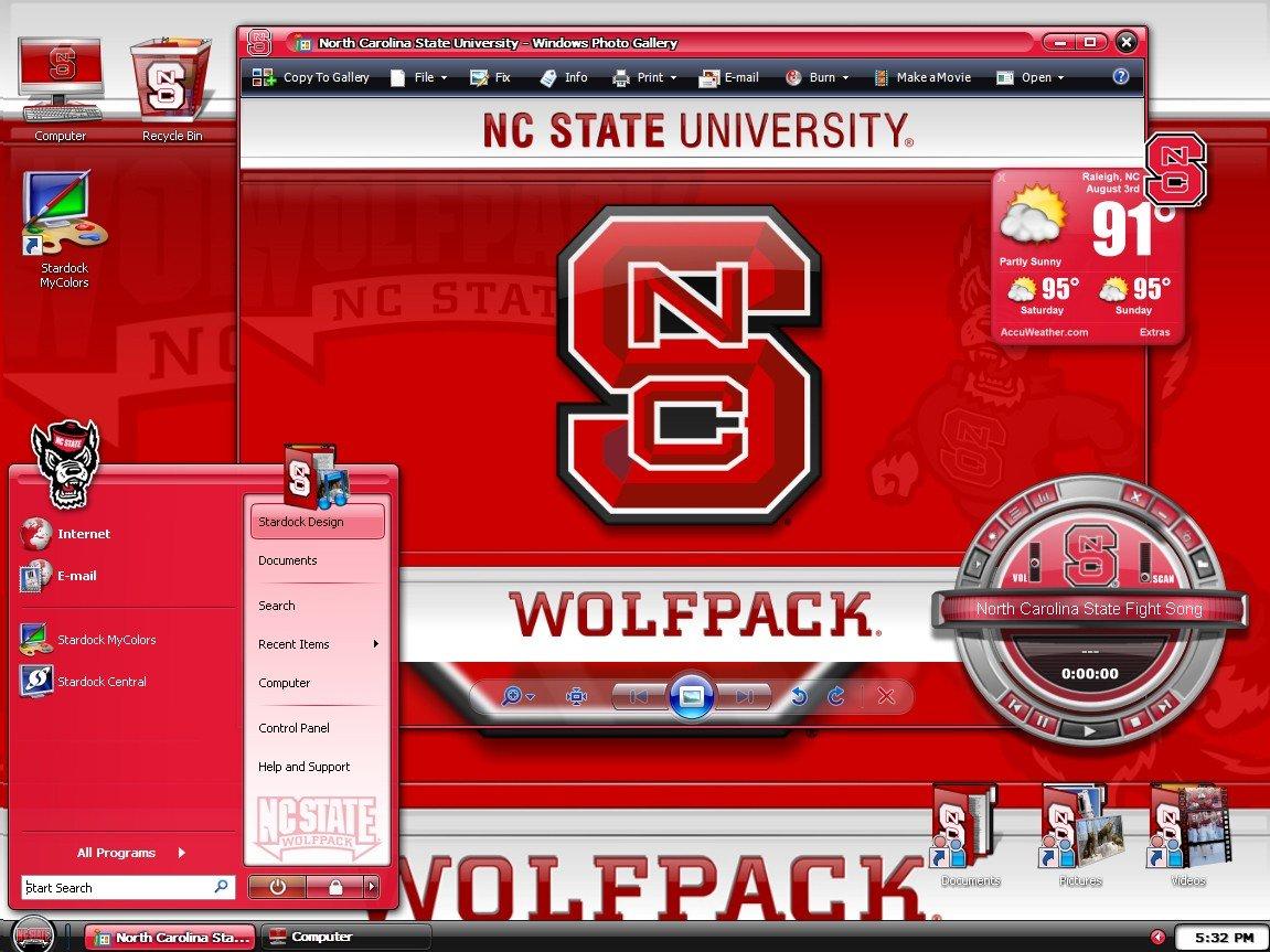 MyColors North Carolina State University Desktop Screenshot 3 of 4 1151x863
