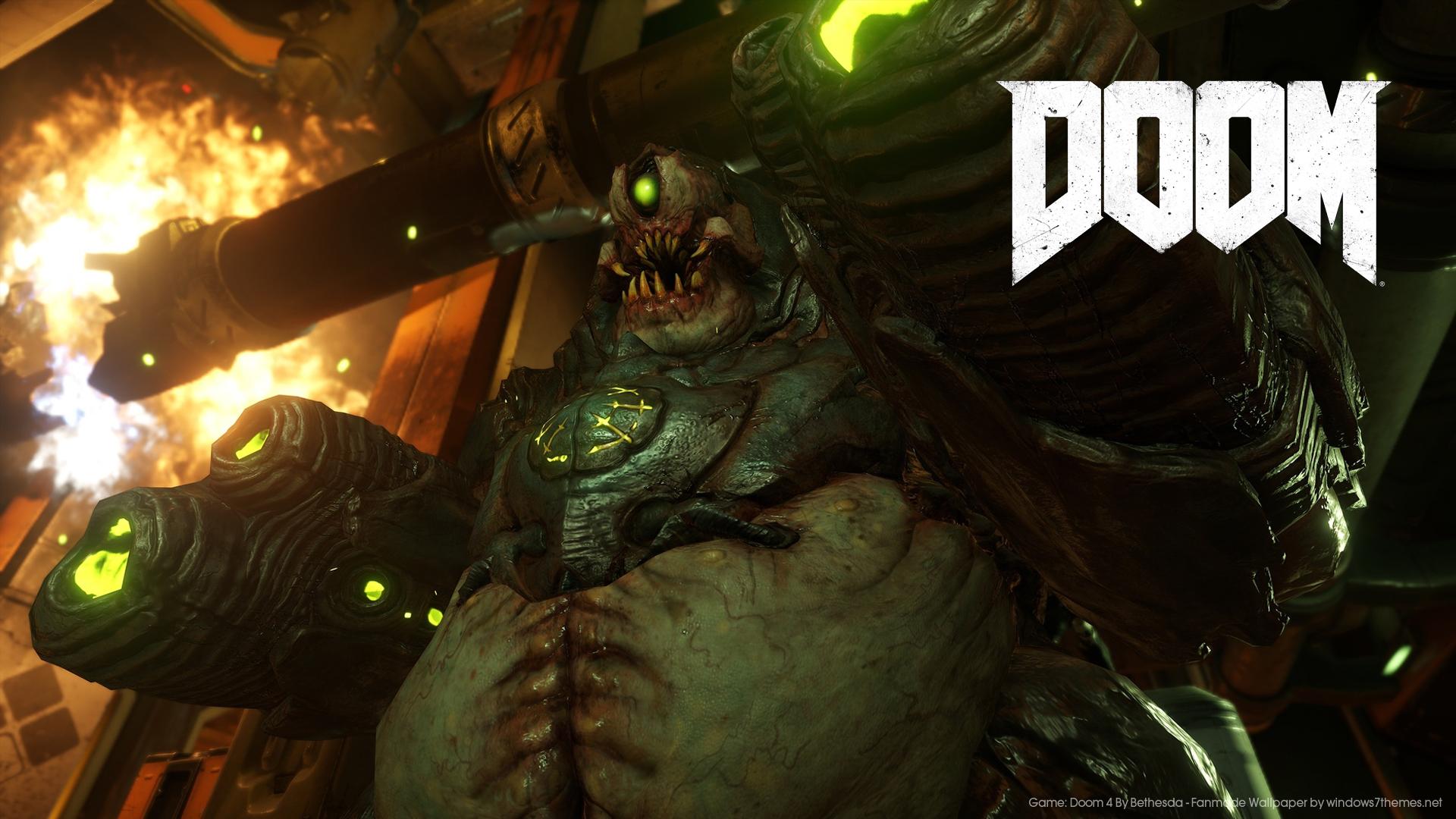 Free Download High Res Doom 4 Wallpapers For Your Desktop