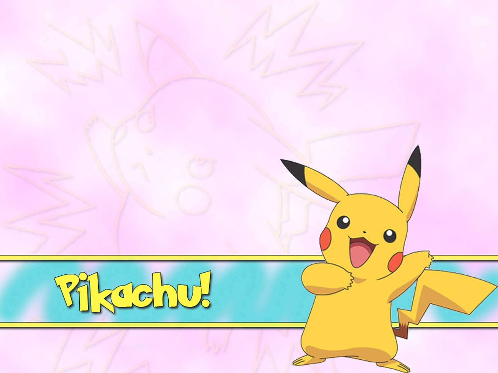 wallpapers Pikachu Pokemon 1600x1200