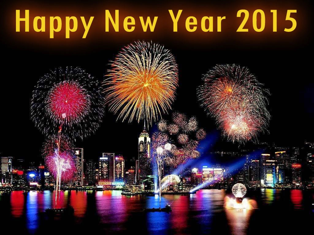 10 best Happy New Year 2015 HD Wallpaper 1024x768