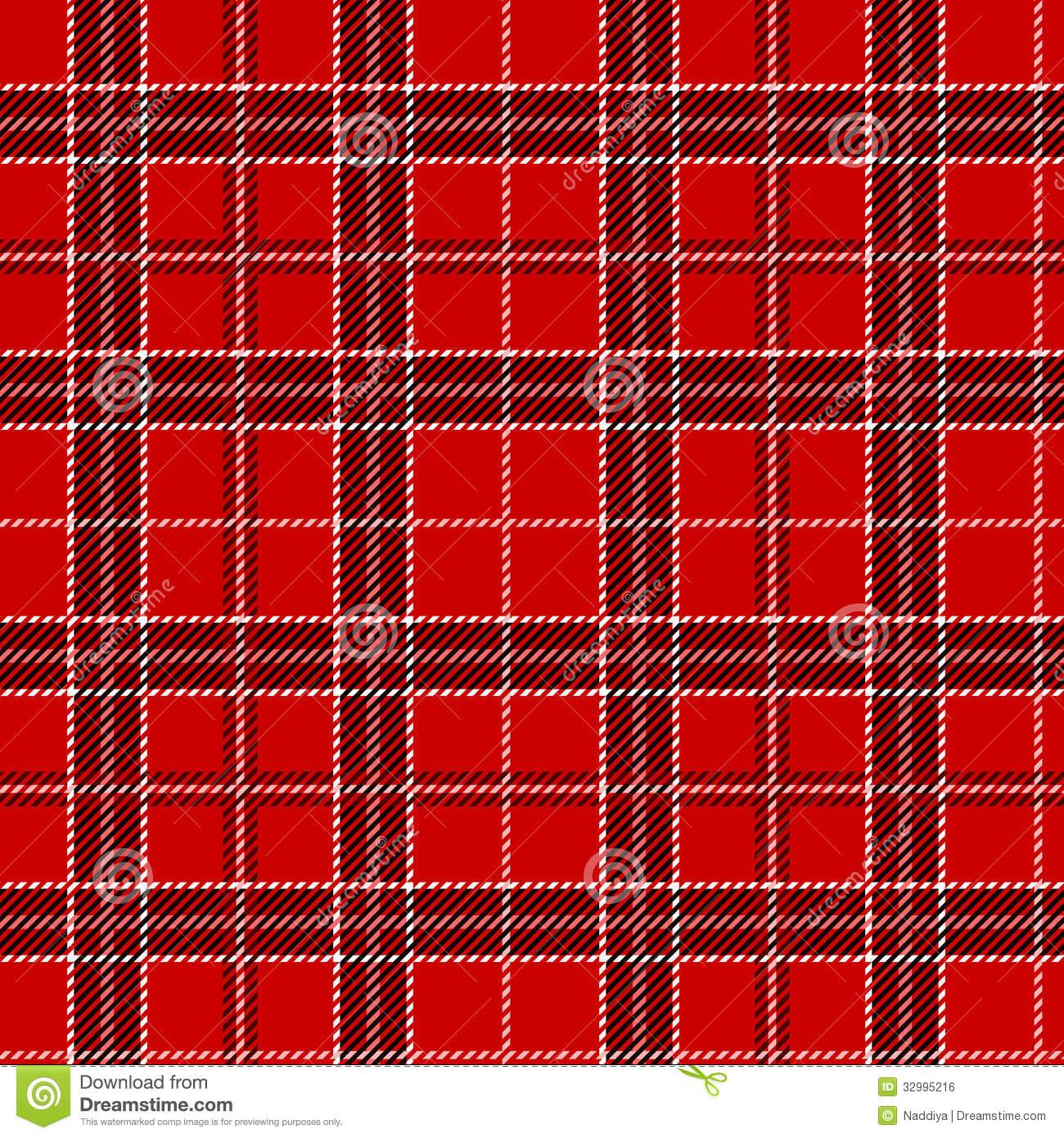 Checkered Wallpaper: Red Plaid Wallpaper