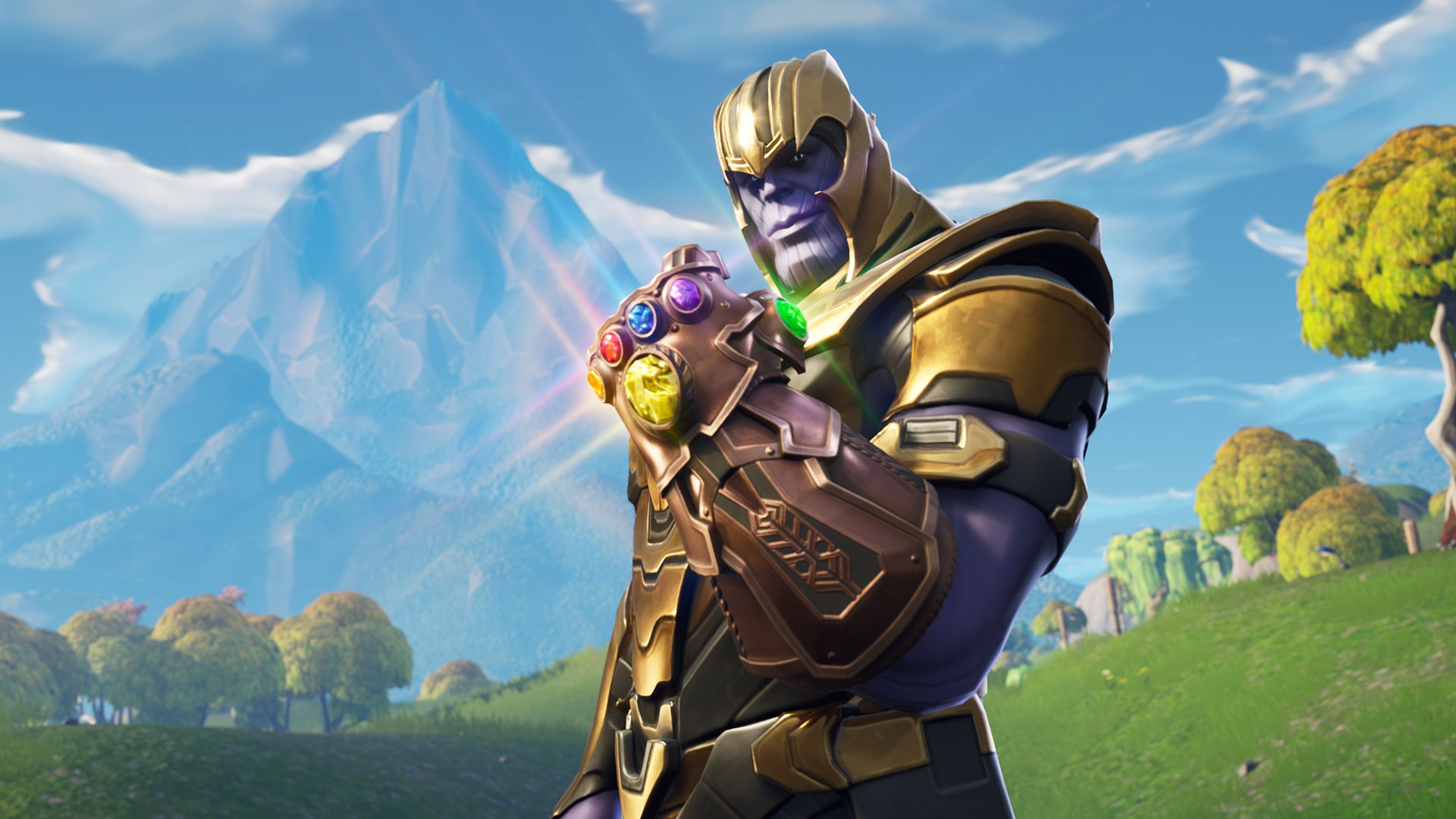 Fortnite Backgrounds Thanos 4041 Wallpapers and Stock Photos 1920x1080