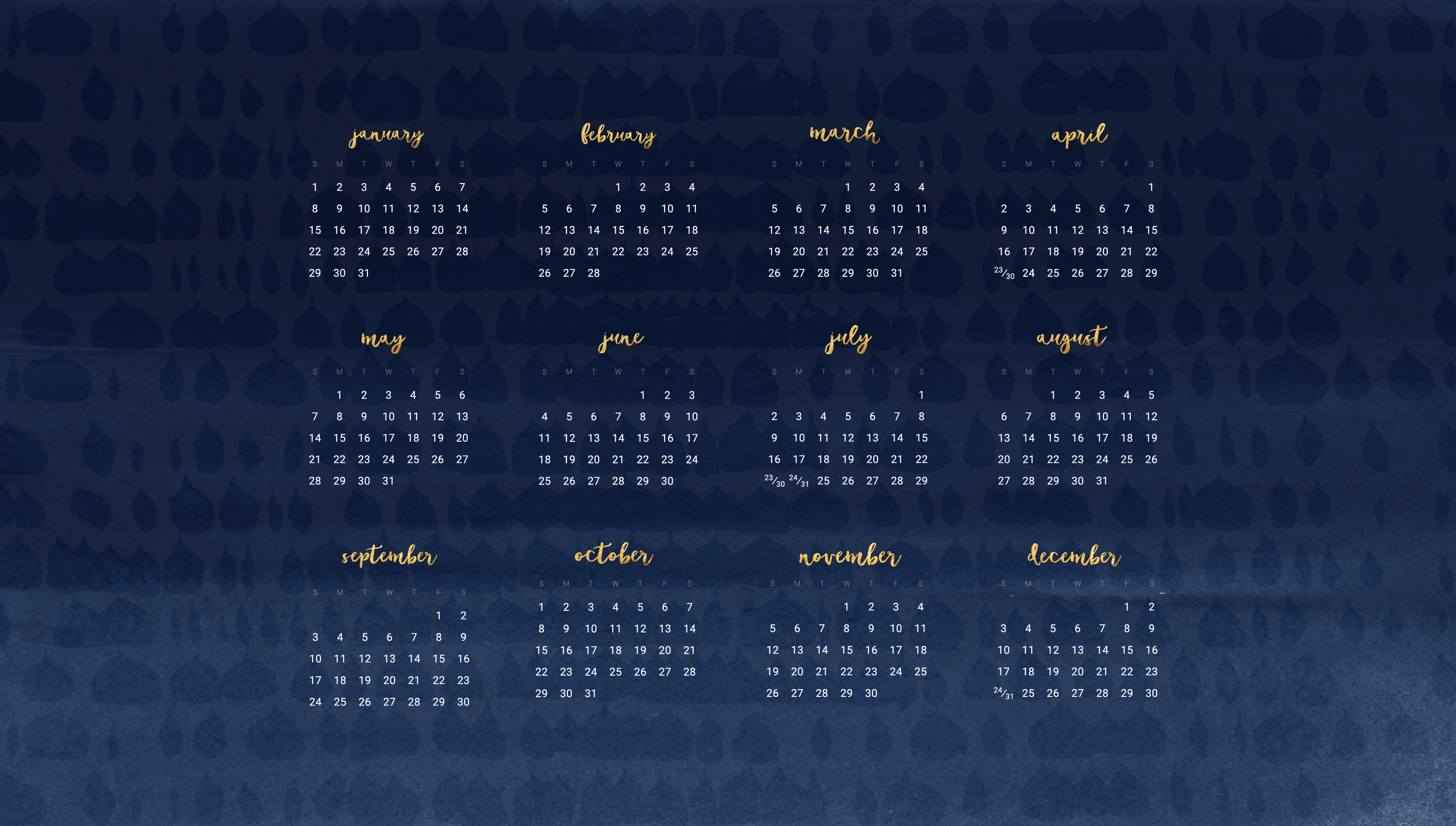 Free Download Wallpaper Calendars For 2018 61 Images