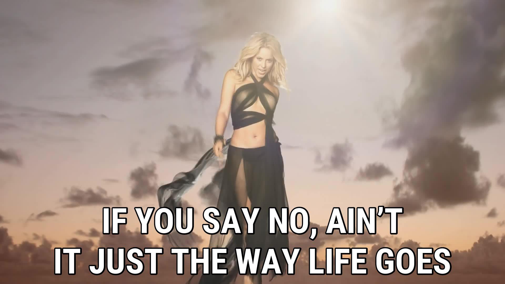 Gypsy lyrics Shakira song in images 1920x1080
