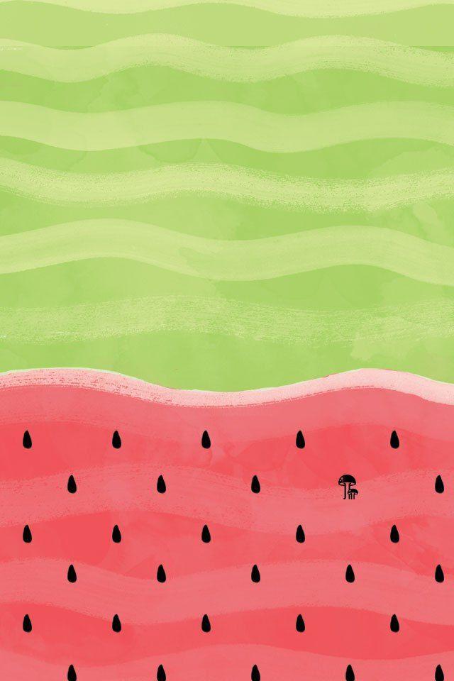 Wallpaper Watermelon Screen Savers Iphone