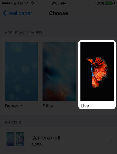 How to Set and Use Live Wallpapers on iPhone 6s and 6s Plus 400x526