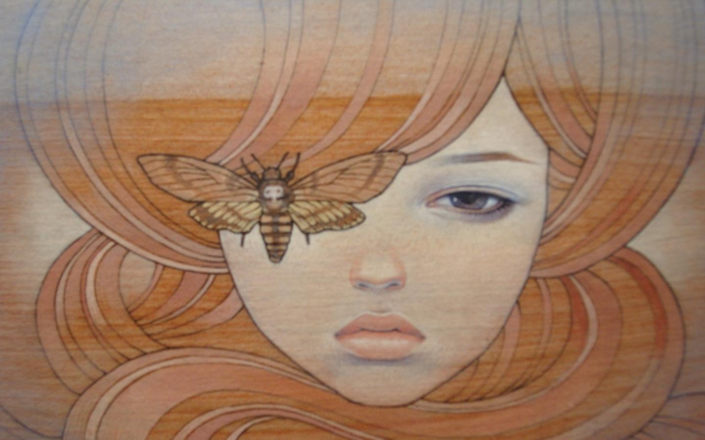 audrey kawasaki 2592x1944 wallpaper Art HD WallpaperHi Res Art 1440x900