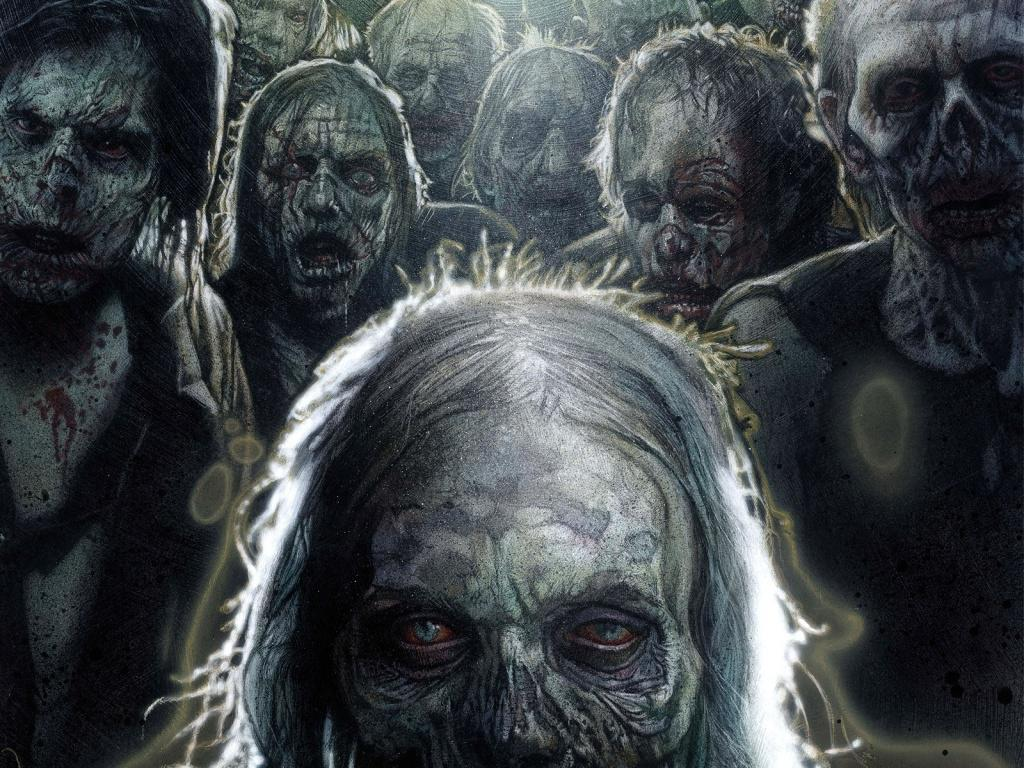 Walking Dead Zombie Wallpaper - WallpaperSafari