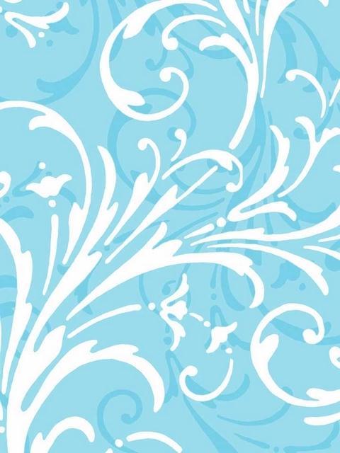 KD1725 Blue Layered Scroll Wallpaper TotalWallcoveringCom 480x640