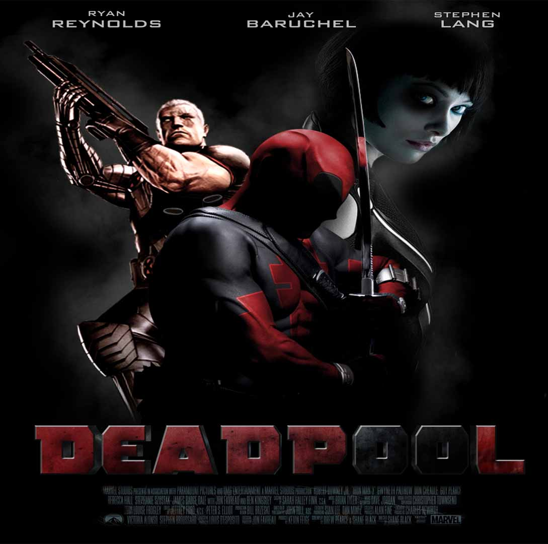Deadpool 2016 Marvel Comics Film Poster Wallpaper 1089x1080