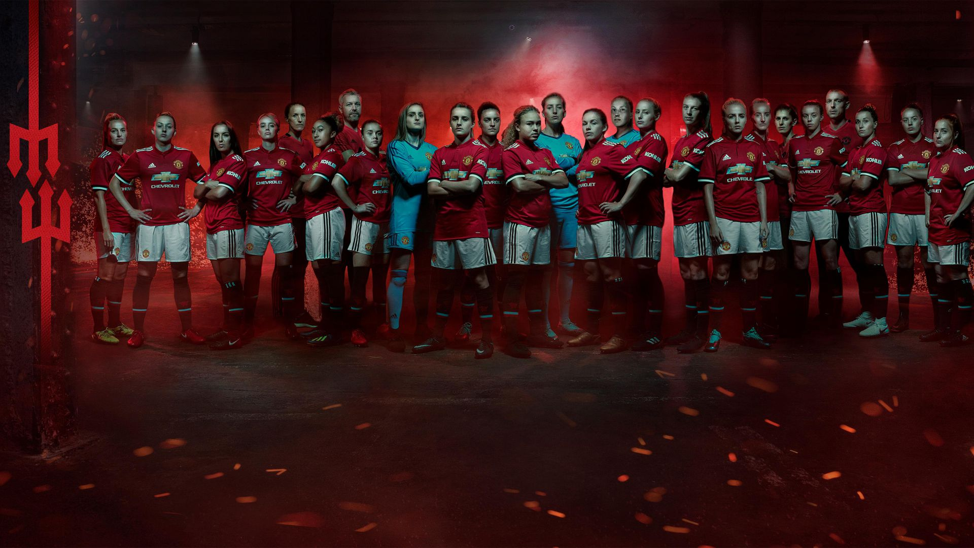 Announcement of players in Man Utd Women squad Manchester United 1920x1080