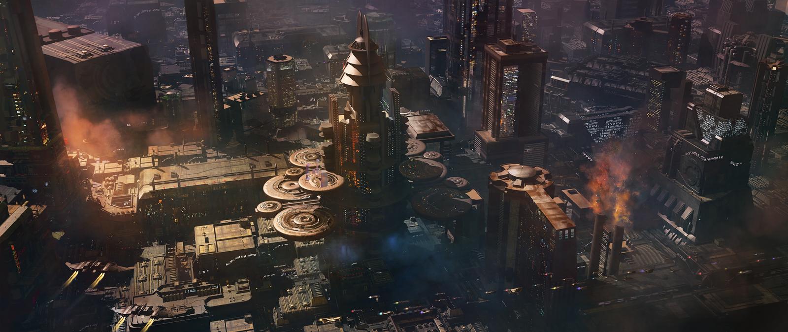 ... art scenes futuristic sci fi 2012 2015 fmacmanus aurora rising i m