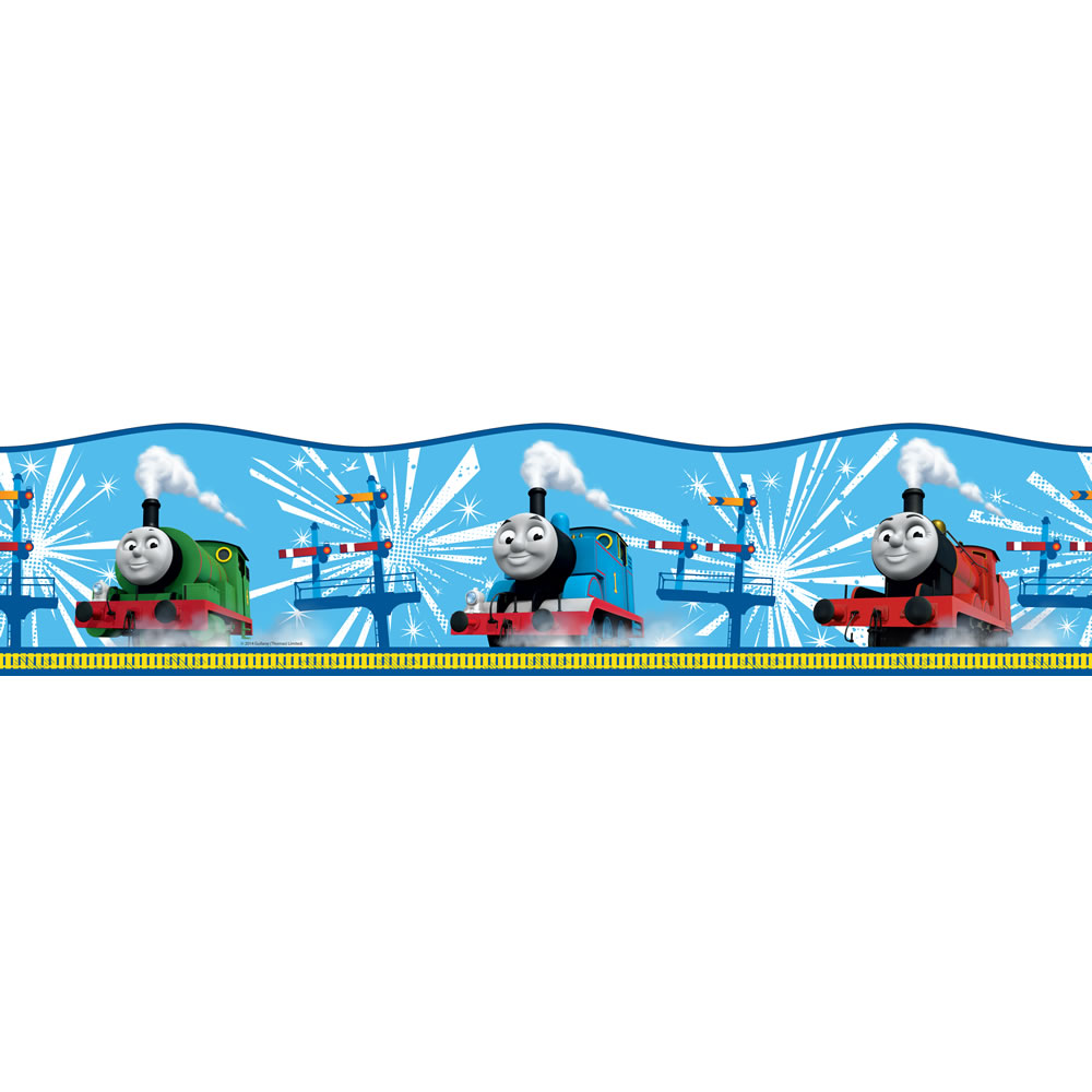 kids wallpaper borders stickers thomas the tank engine border invt 1000x1000