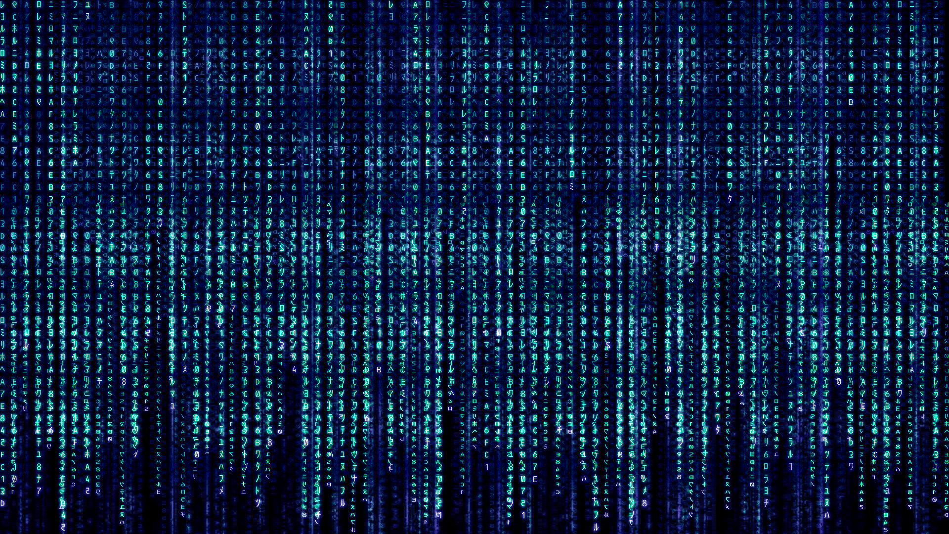 Blue Matrix Code Wallpapers Blue Matrix Code Myspace Backgrounds 1920x1080
