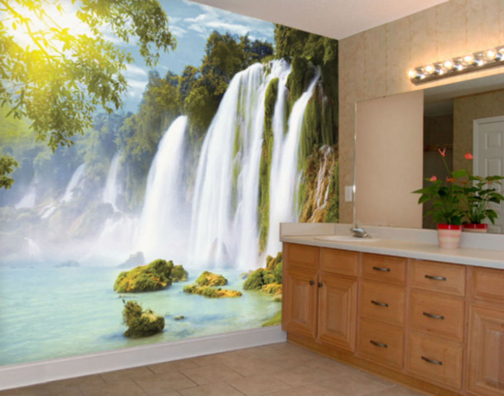 AMAZON WATERFALLS GIANT Photo Wallpaper Wall Mural 400cmx280cm no 1023x803